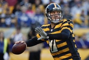 Ben Roethlisberger é o líder do ataque dos Steelers