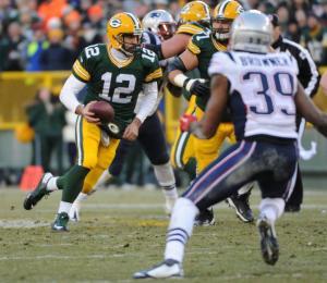 A-Rod liderou os Packers em campo