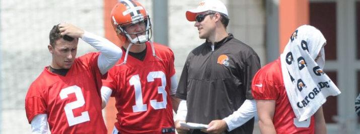 Josh Mccown deve começar 2015 como titular do Cleveland Browns