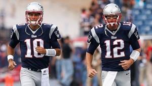Brady e Garappolo tiveram atuações distintas