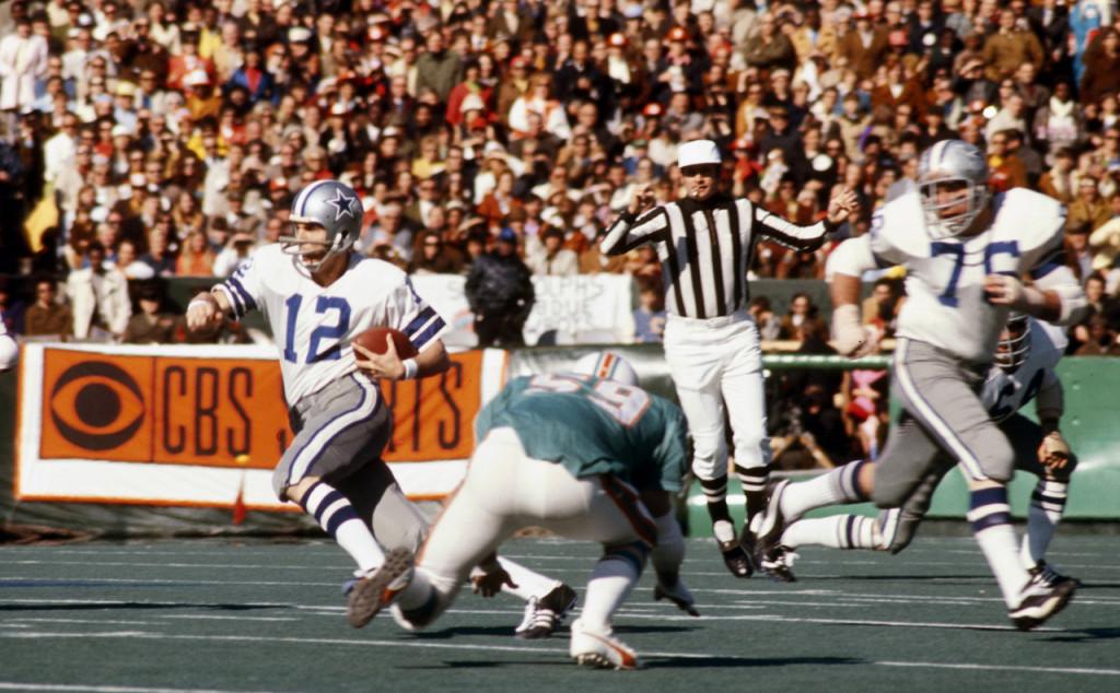 Roger Staubach foi o MVP do Super Bowl VI, vencido pelos Cowboys