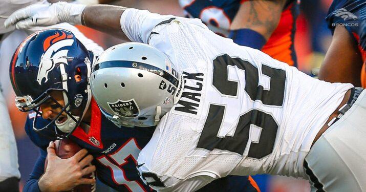 Khalil Mack foi o terror do ataque dos Broncos