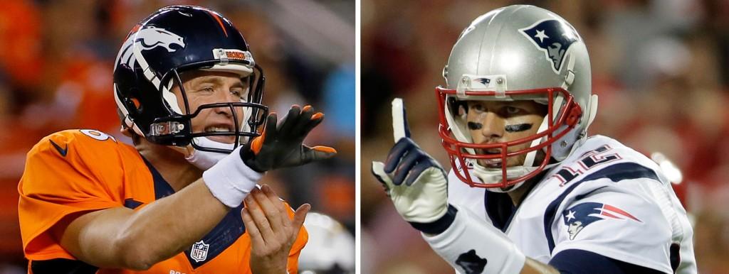 Manning vs Brady XVII: o QB dos Patriots tem vantagem no confronto direto