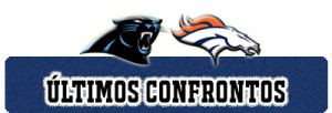 ULTIMOS CONFRONTOS panthers broncos