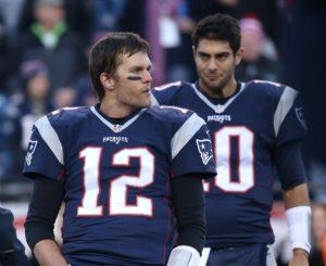 Jimmy Garoppolo deverá ser o substituto de Tom Brady