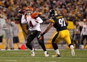 Steelers e Bengals jogarão mais uma vez no domingo