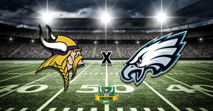 Minnesota Vikings x Philadelphia Eagles na semana 6: prévia, onde assistir e palpite