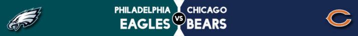 Com primeiro tempo dominante, Eagles batem os Bears na Filadélfia