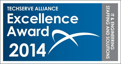 TechServe Alliance Excellence Award 2014