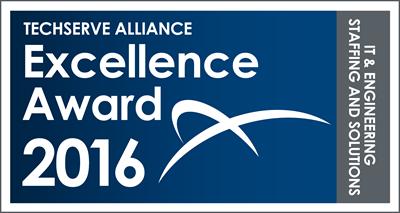 TechServe Alliance Excellence Award 2016