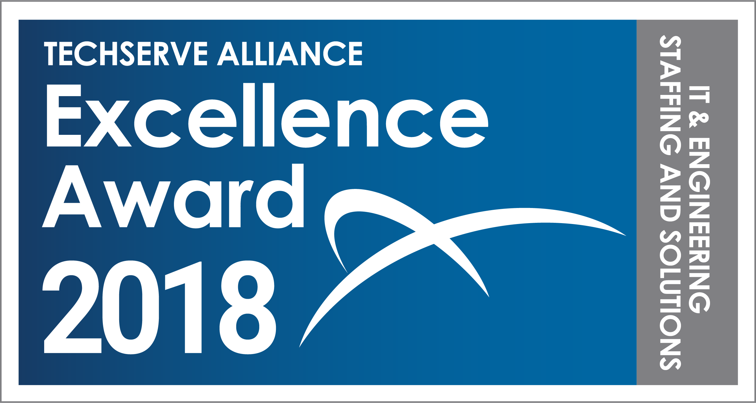 TechServe Alliance Excellence Award 2018