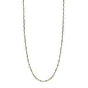 """10K 2.11-2.20CT D-NECKLESS MENS RDS P1 22"""" M325"""