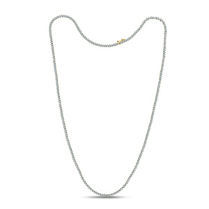 """10K 2.36-2.46CT D-NECKLESS MENS RDS 24"""" P1 M325"""