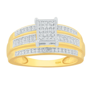 10K 0.21-0.25CT D-RING LDS RDS MP