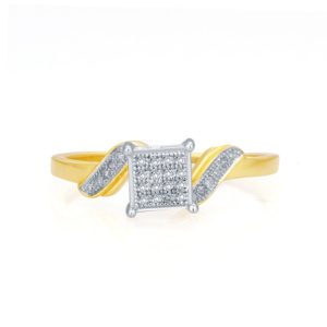 10K 0.09CT D-RING LDS RDS MP