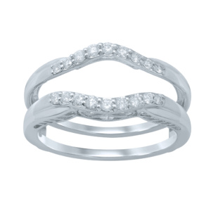 14K 0.23-0.27CT D-RING GUARD LDS RDS
