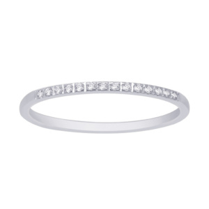 14K 0.06-0.08CT D-RING BAND MACHINE LDS RDS