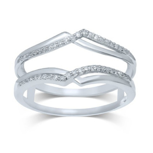 14K 0.15-0.18CT D-RING GUARD LDS RDS