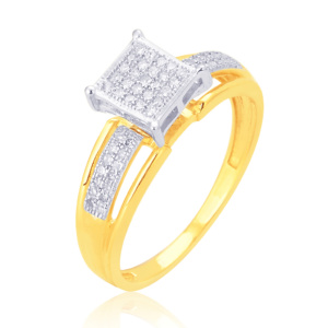 10K 0.15CT D-RING LDS RDS MP