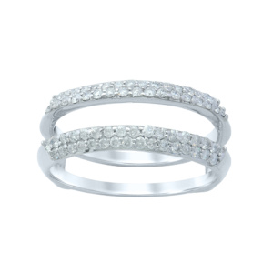 10K 0.47 CT D-RING GUARD LDS RDS