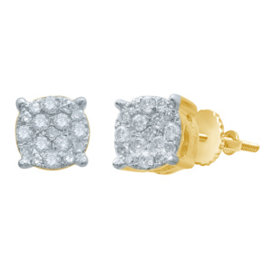 10K 0.13-0.16CT D-EARRINGS RDS