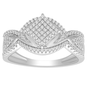 10K 0.33CT D-RING LDS RDS