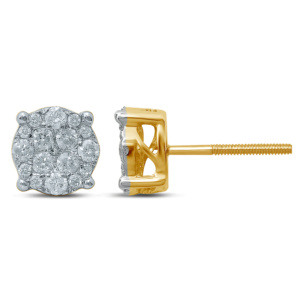 10K 0.48-0.53CT D-EARRING LDS RDS