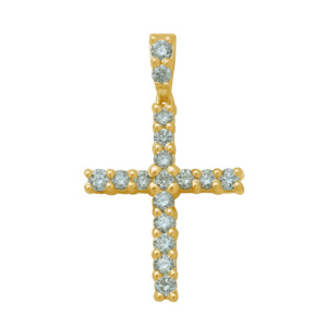 10K 0.33-0.34CT D-PENDANT MEN  RDS 8F