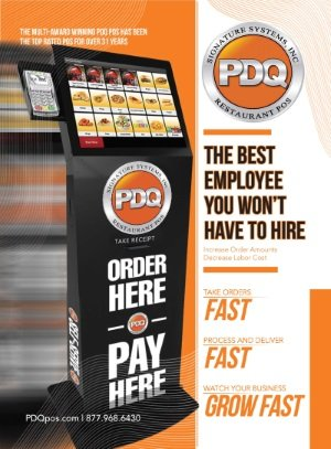 PDQ POS self-serve kiosk
