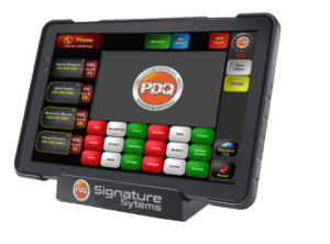 PDQ POS quest tablet