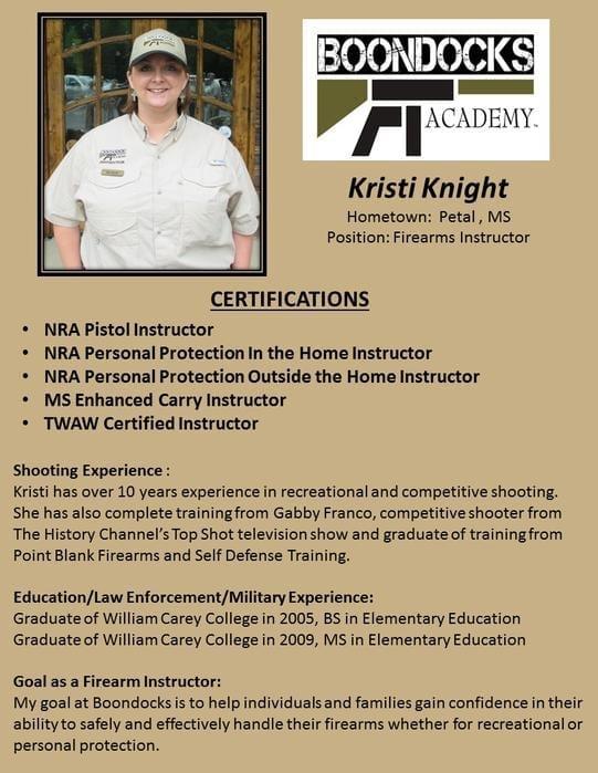 Kristi Knight