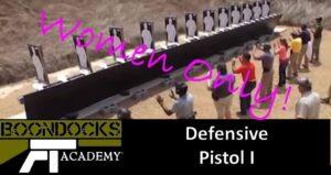 Defensive Pistol I - For women only