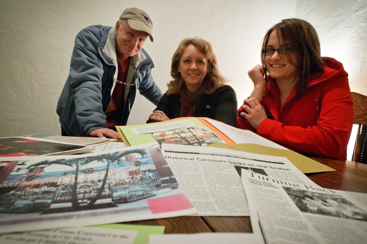 Press article: Richard Le Francis, Julie Clark and Kathryn Manning form a committee