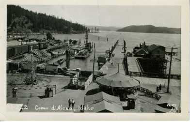 Early location prior to the Pier