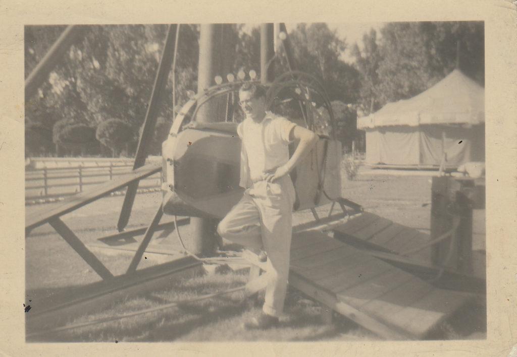 Early ride operator 1955