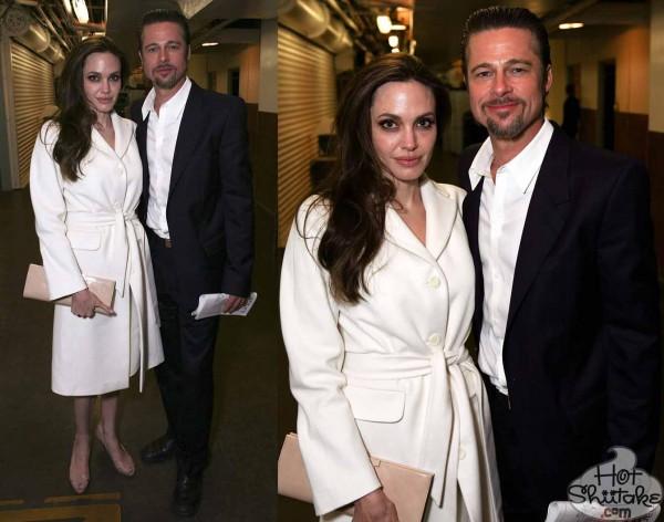 Ugly Angelina Jolie and Brad Pitt
