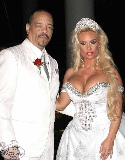 Ice-T and Coco Wedding