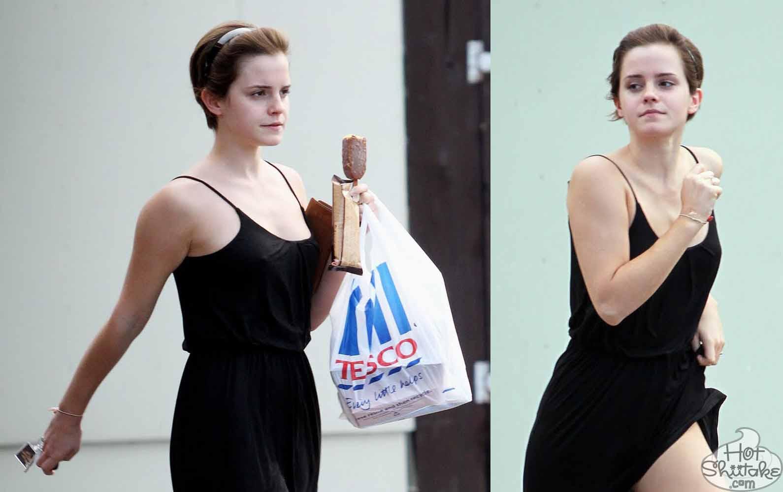 Emma Watson Jogging