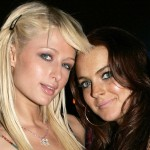 Paris Hilton Lindsay Lohan Partying Together