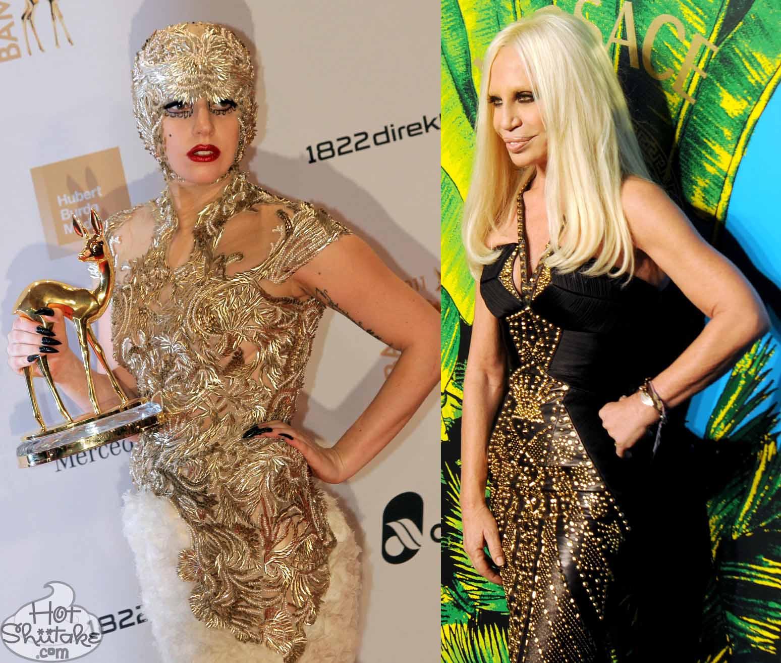 Lady Gaga Versace Ugly