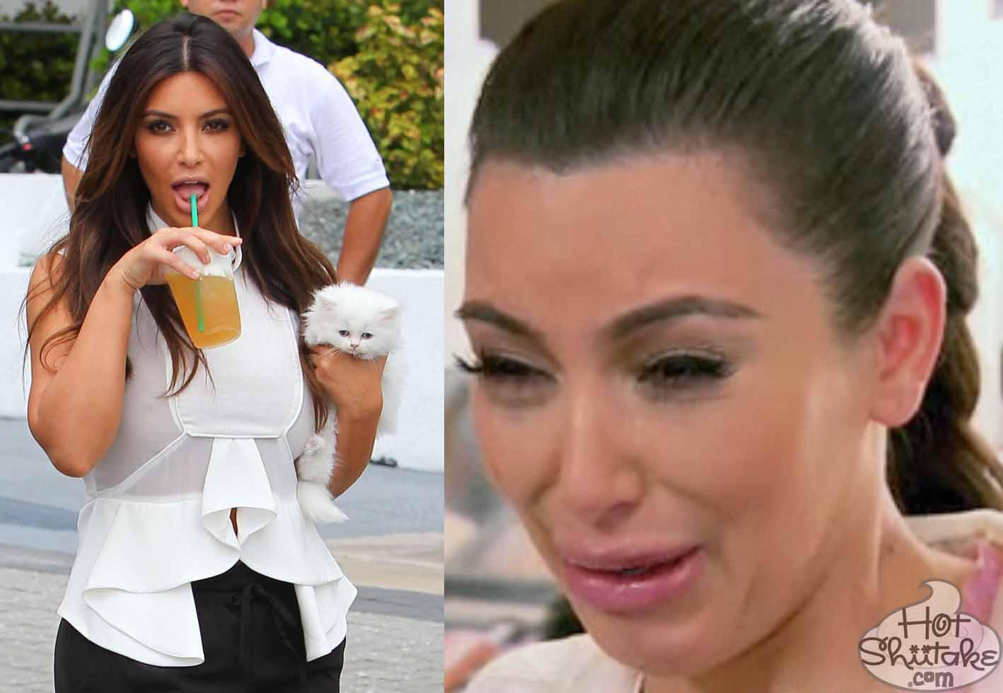 Kim Kardashian Cat Died