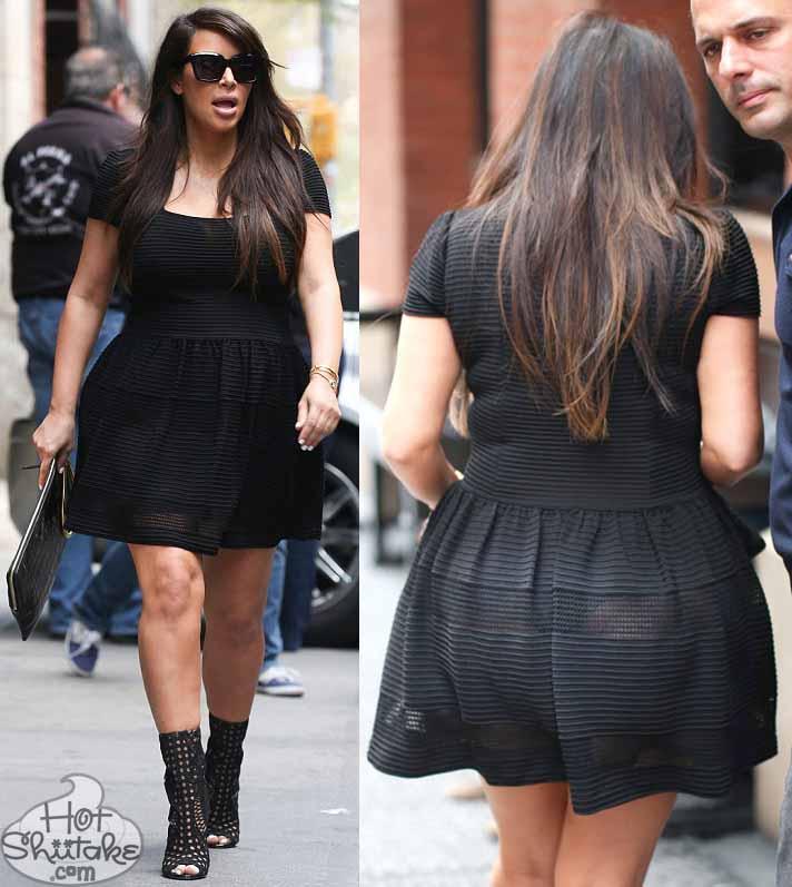 Kim Kardashian Thong