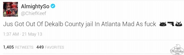 Chief Keef Arrested
