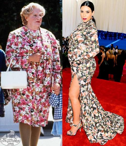 Mrs Doubtfire Kim Kardashian