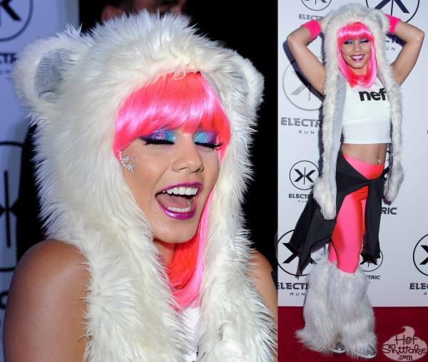 Vanessa Hudgens Pink Hair