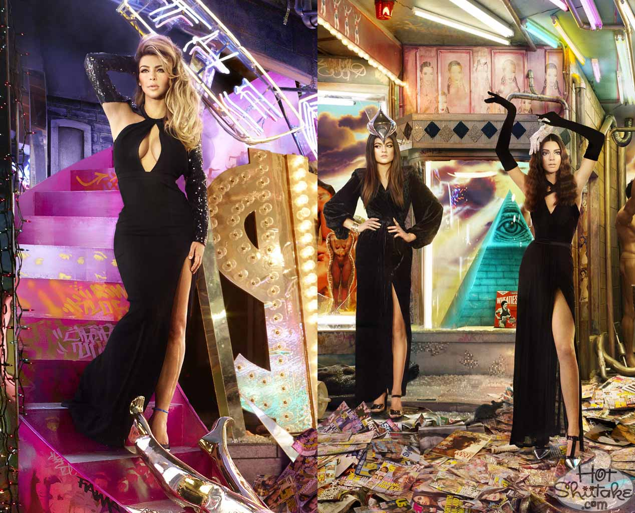 Kardashian Christmas Card 2013