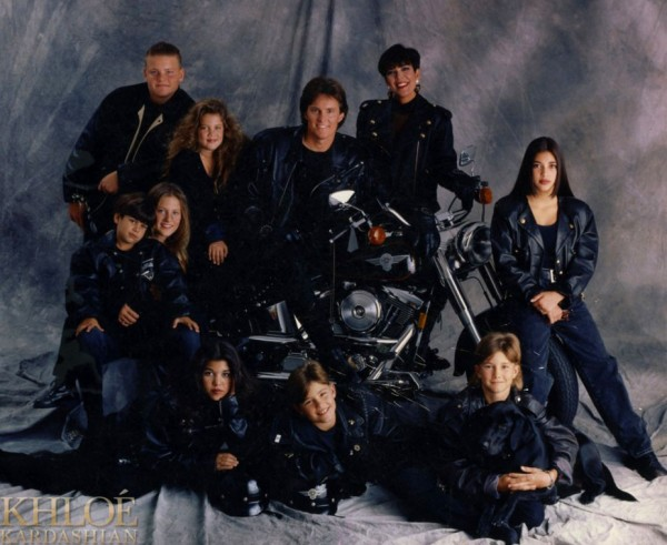Kardashian Family Christmas Cards 1994
