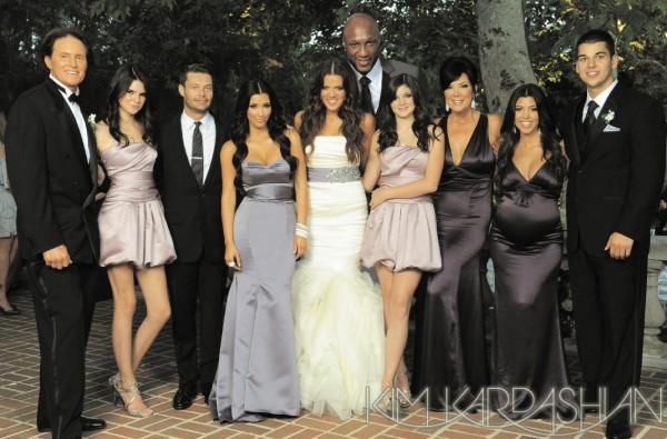 Kardashian Family Christmas Cards 2009