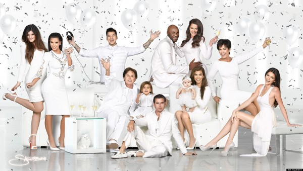 Kardashian Family Christmas Cards 2012
