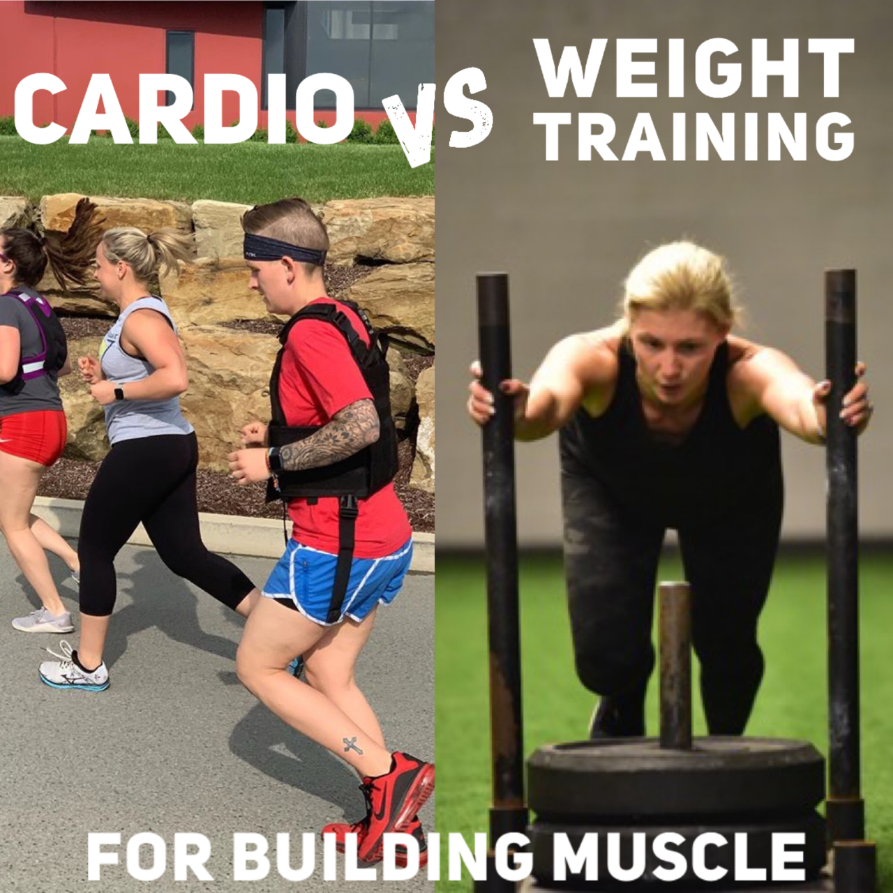 Cardio vs. Weight Training for Building Muscle